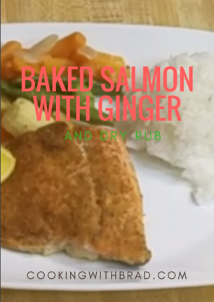 Baked Salmon_with_ginger