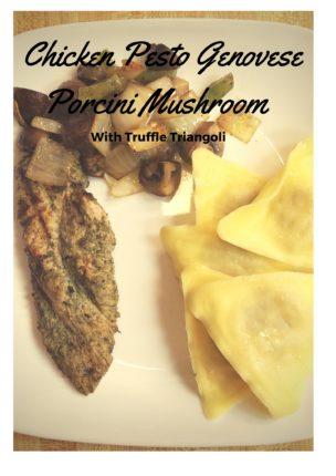 Chicken Pesto Genovese, Porcini Mushroom