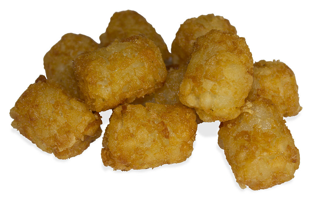 Tater tots for a great Chicken & Tater Tot Casserole