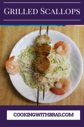 Grilled Scallops with Shrimp