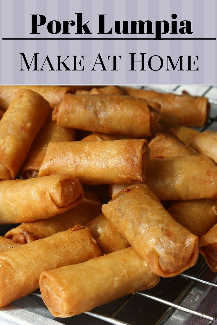 Made at Home Lumpia