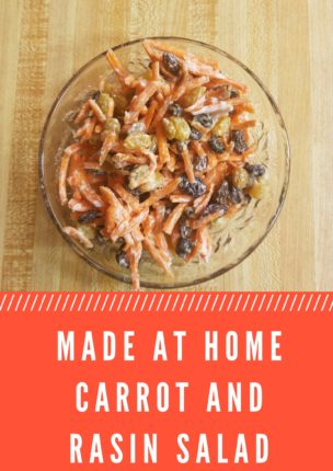 Raisin and Carrot Salad