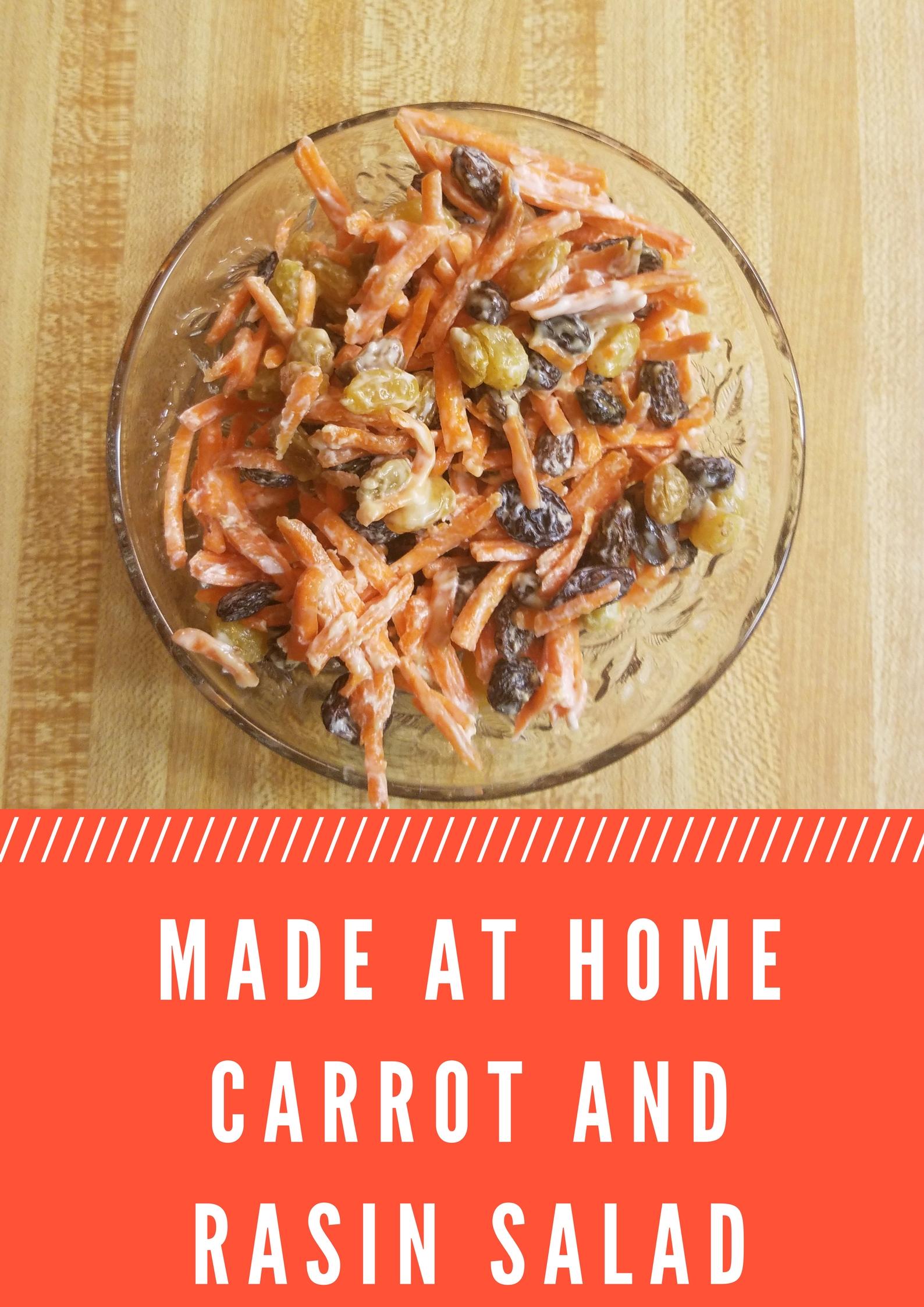 Raisin and Carrot Salad