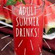 Adult Summer Drinks!