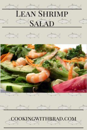 Lean Shrimp Salad